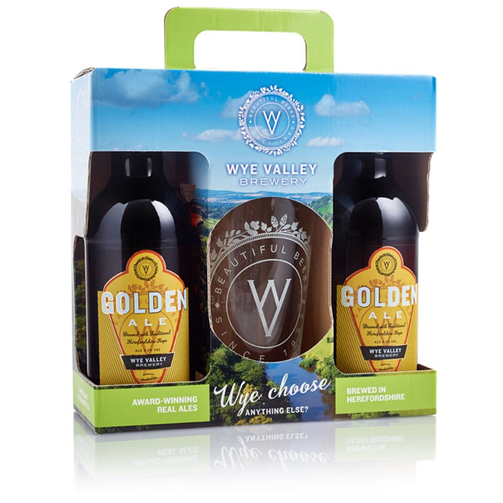 Image of GOLDEN ALE PRESENTATION PACK