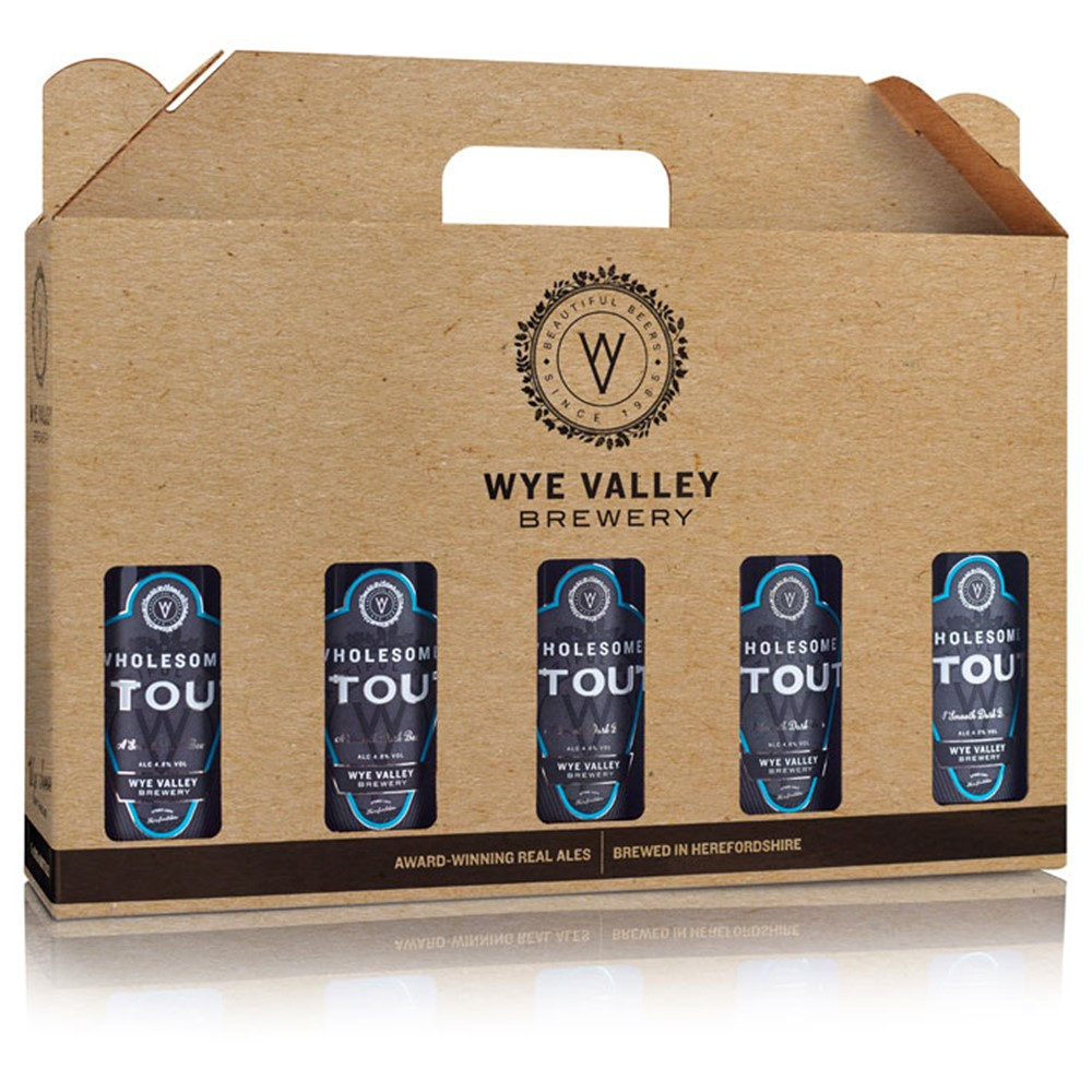 Image of WHOLESOME STOUT - FIVE BOTTLE GIFT PACK