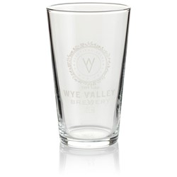 Image of 4xHALF PINT GLASS