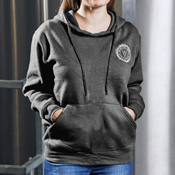 Image of WYE VALLEY BREWERY PULLOVER HOODIE (GREY)