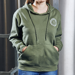 Image of Wye Valley Pullover Hoodie (Green)