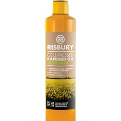 Image of BASIL RAPESEED OIL