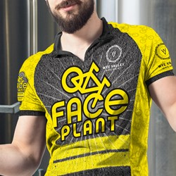 Image of Zip-Up Cycling Jersey