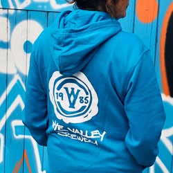 Image of Blue Pullover Hoodie