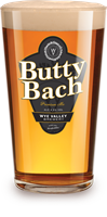 Glass of Butty Bach
